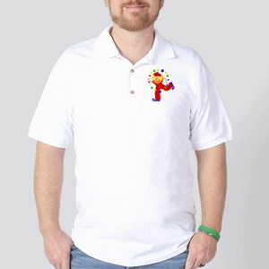 carnival clown Golf Shirt