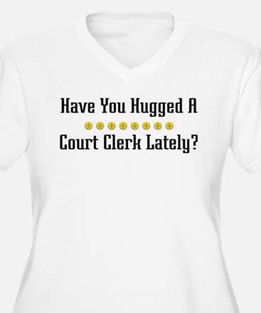 Hugged Court Clerk T-Shirt