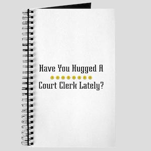 Hugged Court Clerk Journal