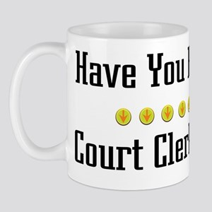 Hugged Court Clerk Mug