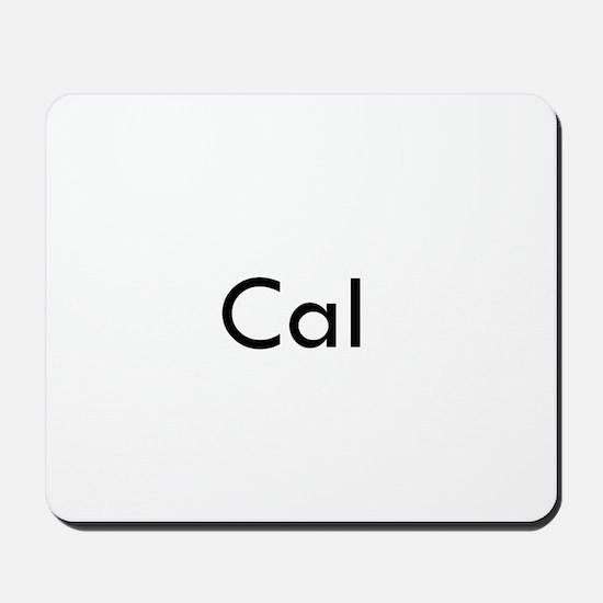 Cal 2 Mousepad