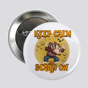"Werewolf Keep Calm 2.25"" Button"