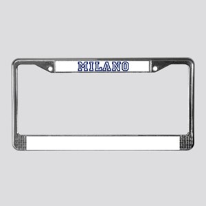 MILANO University License Plate Frame