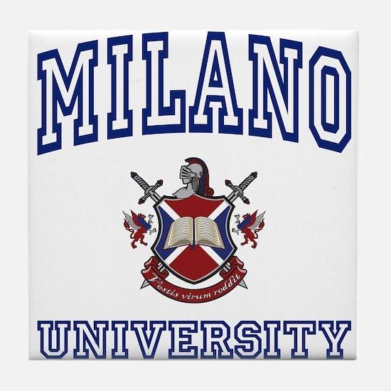 MILANO University Tile Coaster