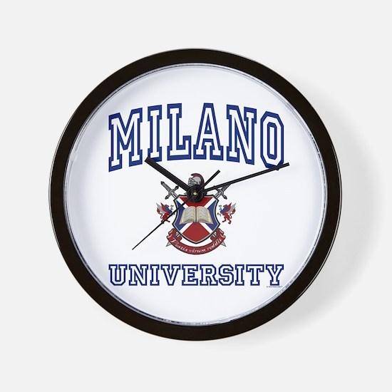 MILANO University Wall Clock