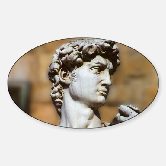 Famous David Statue in Flor Decal