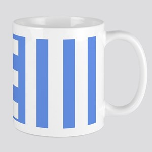 Sky Blue Combs Tooth Mugs