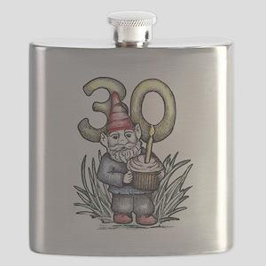 30th Birthday Gnome Flask