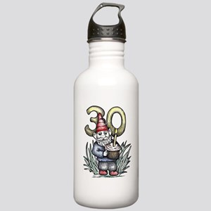 30th Birthday Gnome Stainless Water Bottle 1.0L