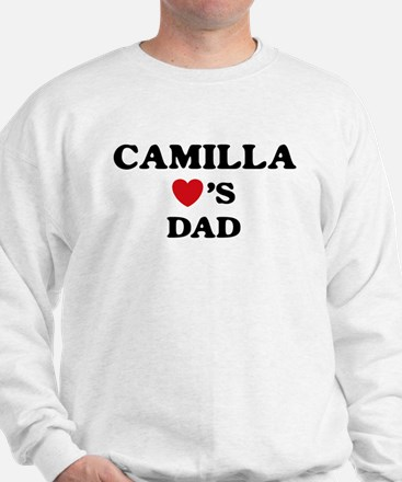 Camilla loves dad Sweatshirt
