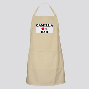 Camilla loves dad BBQ Apron