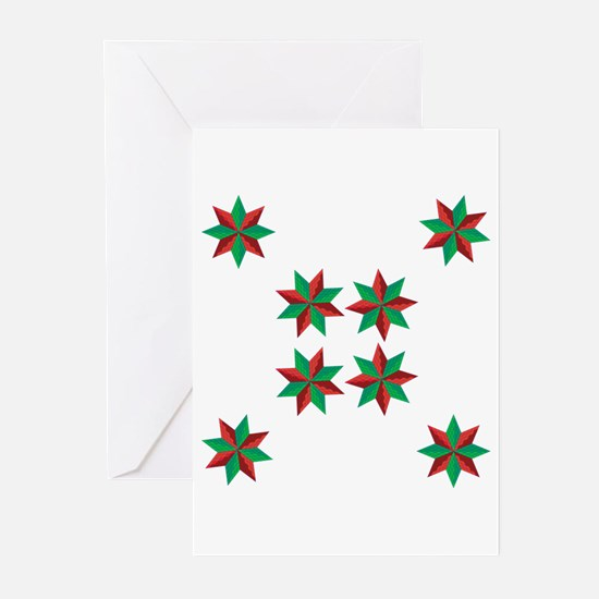 Christmas Stars Greeting Cards (Pk of 20)