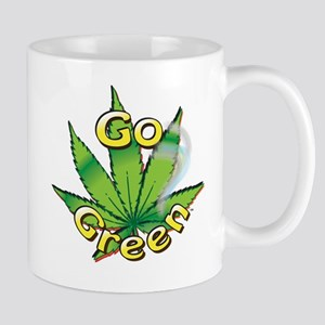 GO GREEN Mugs