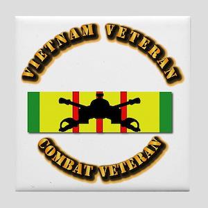 VN Vet - VCM - AR BR Tile Coaster