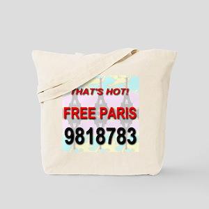 That's Hot Free Paris 9818783 Tote Bag