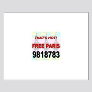 That's Hot Free Paris 9818783 Small Poster