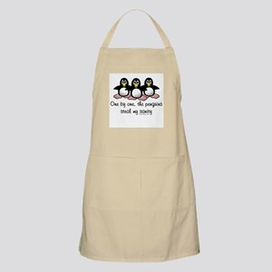 One by One the Penguins Apron