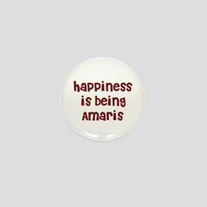 happiness is being Amaris Mini Button