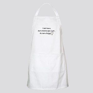 Short Attention Span Chicken Apron