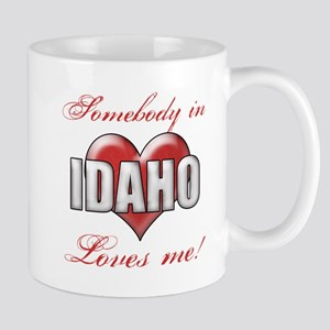 Somebody In Idaho Loves Me Mugs