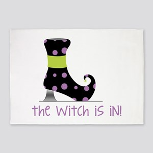 The Witch is In 5'x7'Area Rug
