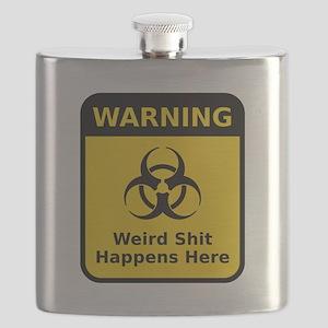 Weird Warning Sign Flask