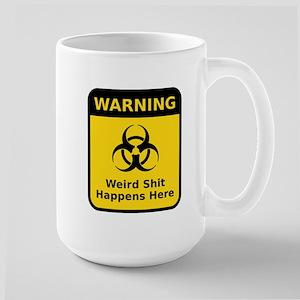 Weird Warning Sign Mugs