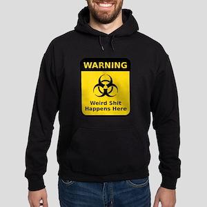 Weird Warning Sign Hoodie