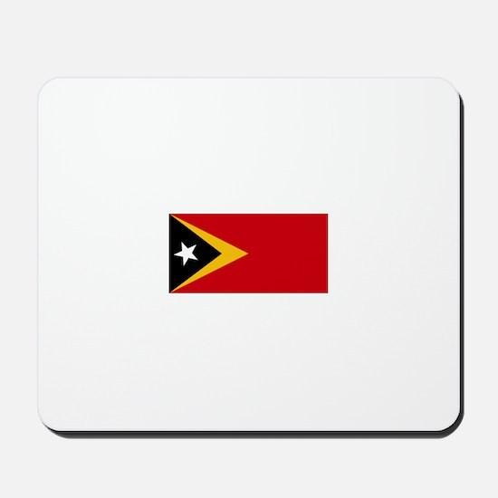 timor leste flag Mousepad