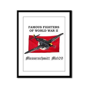 Me109 Framed Panel Print
