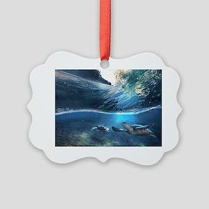 Sea Turtles Ornament