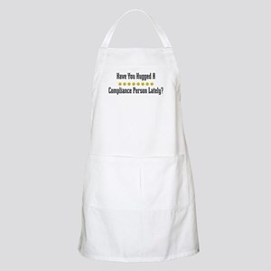 Hugged Compliance Person BBQ Apron