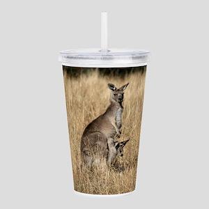Kangaroos in Australia Acrylic Double-wall Tumbler