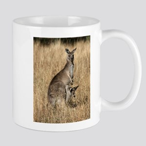 Kangaroos in Australian Bush Mugs