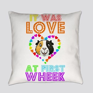 IT WAS LOVE AT FIRST WHEEK Everyday Pillow