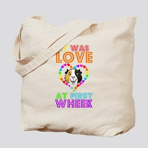 IT WAS LOVE AT FIRST WHEEK Tote Bag