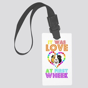 IT WAS LOVE AT FIRST WHEEK Luggage Tag
