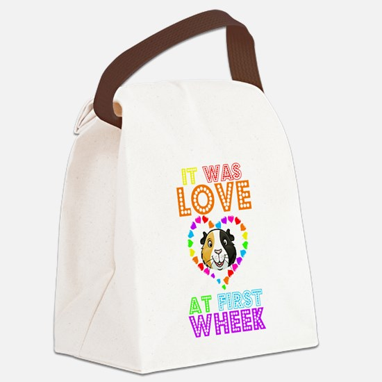 IT WAS LOVE AT FIRST WHEEK Canvas Lunch Bag