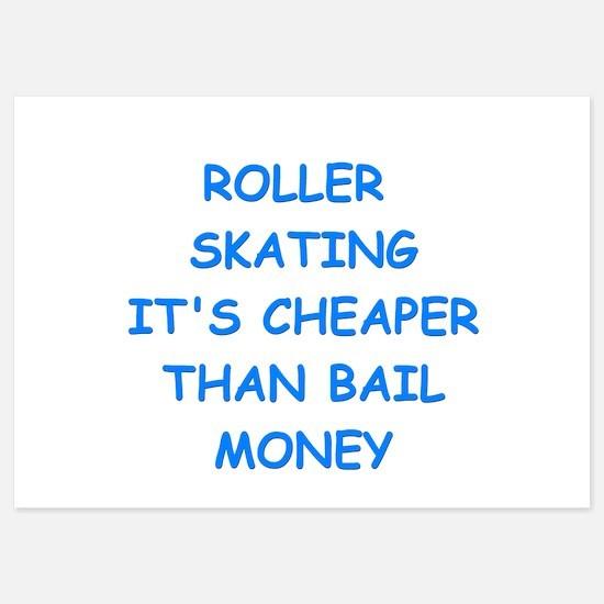 roller skating Invitations