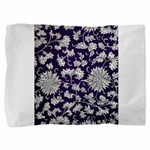Abstract Whimsical Flowers Pillow Sham