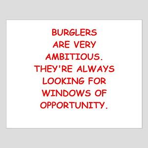burglars Small Poster