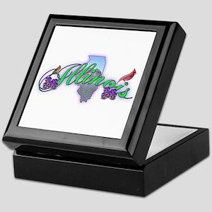 Illinois Keepsake Box