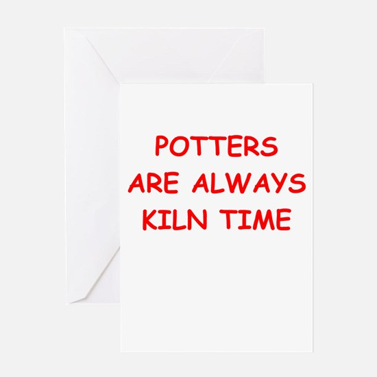 potter Greeting Card