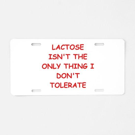 tolerate Aluminum License Plate