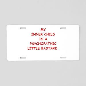 inner child Aluminum License Plate