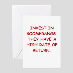 boomerang Greeting Card