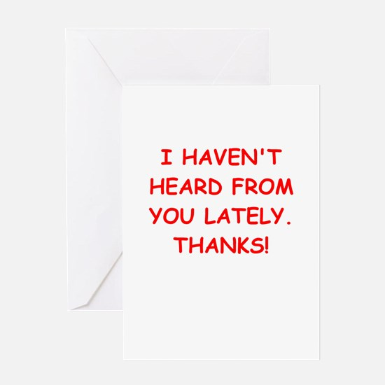 hatred Greeting Card