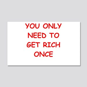 rich 20x12 Wall Decal
