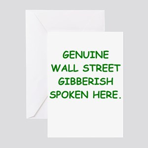 Stock broker greeting cards cafepress wall street greeting cards pk of 10 m4hsunfo