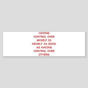 control freak Sticker (Bumper)